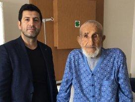 101 yaşındaki hasta ameliyatla sağlığına kavuştu
