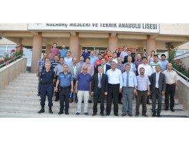 Meram'da Mayıs ayı güvenlik toplantısı yapıldı