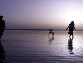 Tuz Gölüne fotoğrafçı akını