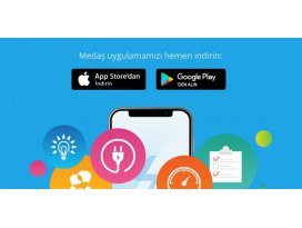 MEDAŞ, mobil uygulama ile kullanıcıların hayatını kolaylaştırıyor