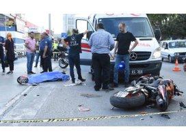 Özgenin öldüğü kazada tutuklanan motosiklet sürücüsü: 70 kilometre hızım vardı