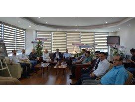 Milletvekilleri Kara ve Erdem Konya SMMMO'yu ziyaret etti