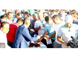 Başkan Kavuş, bayram öncesi personelleriyle buluştu