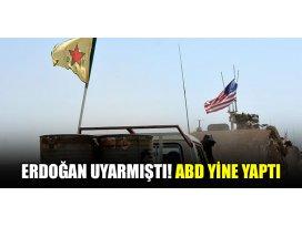 Başkan Erdoğan uyarmıştı! ABD yine yaptı