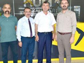Türk Eğitim-Sen Hüma'yı ziyaret etti