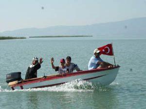 Beyşehir Gölünün derinliği araştırılacak
