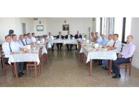 Vergi Dairesi'nde Tahsilat Değerlendirme Toplantısı yapıldı