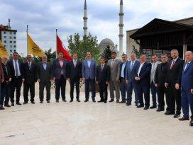 Esnaf Odaları Başkan Altayı ziyaret etti