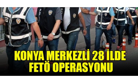 Konyada FETÖ operasyonu: 5 gözaltı
