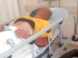 Konyada ceviz çırparken elektrik akımına kapılıp yaralandı