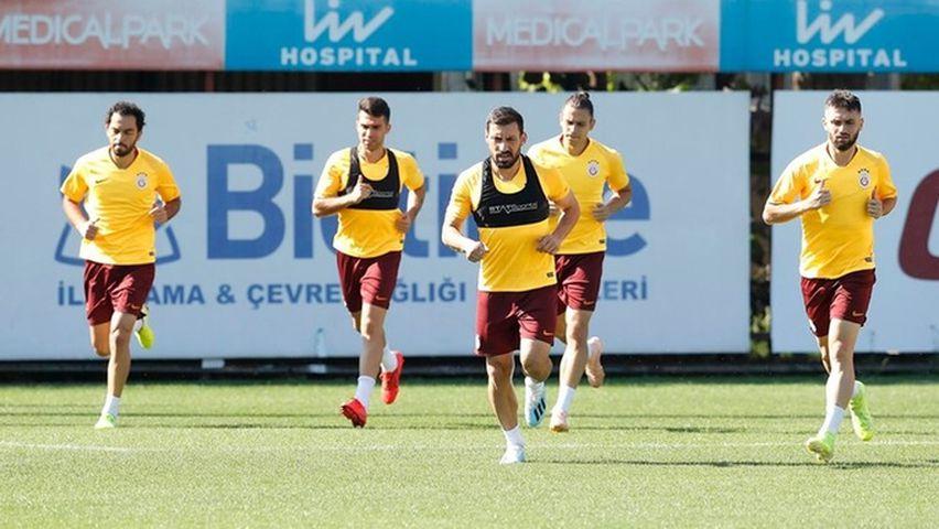Galatasaray'da zorlu mücadele için hazırlıklar
