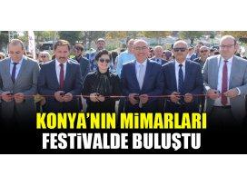 Konya'nın mimarları festivalde buluştu