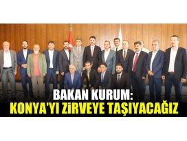 Bakan Kurum: Konya'yı zirveye taşıyacağız