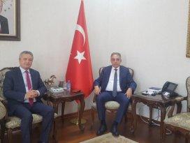 HATSO Başkanı Konya Valisi Toprak'ı ziyaret etti