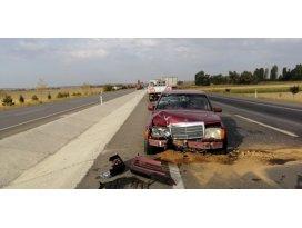 Ilgında trafik kazalarında 3 kişi yaralandı