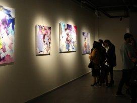 MEDAŞ Sanat Galerisi'nde 'Soyut İzler' resim sergisi açıldı