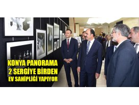 Konya Panorama iki sergiye birden ev sahipliği yapıyor