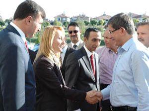 Bakan Davutoğlu Karamanda