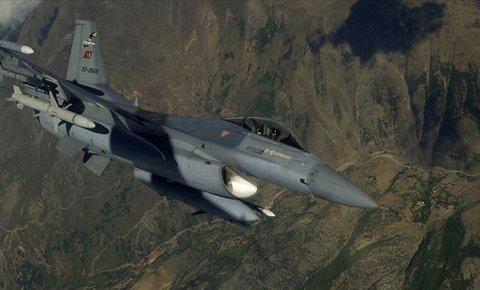 Irakın kuzeyinde PKKlı 8 terörist etkisiz hale getirildi
