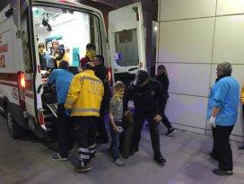 Aksarayda yolcu otobüsü devrildi: 1 ölü, 45 yaralı