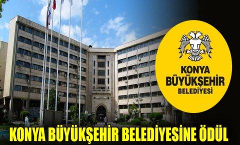 Konya Büyükşehir Belediyesine hareketli belediye ödülü