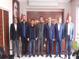 MHP Yunakdan  Remzi Karaarslana hayırlı olsun ziyareti