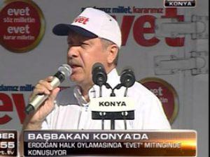 Erdoğan MHP ve CHP yüklendi