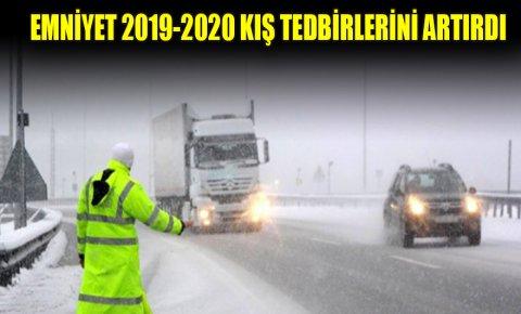 Konya Emniyet Müdürlüğü 2019-2020 kış tedbirlerini artırdı