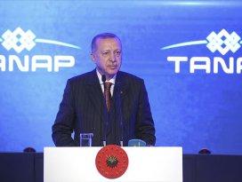 Erdoğan: TANAP ülkemizin barışçıl vizyonunun en somut nişanesidir