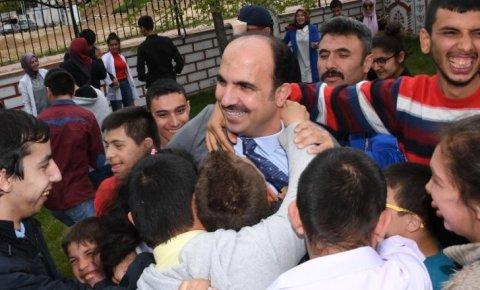"Başkan Altay: Sevgi varsa engel yoktur"""