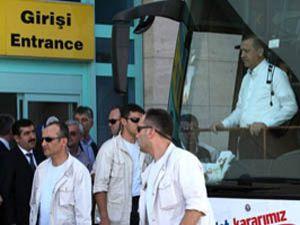 Başbakan Erdoğan Konyadan ayrıldı