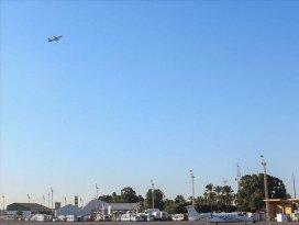 Trablustaki tek sivil havalimanına saldırı! Uçuşlar durduruldu