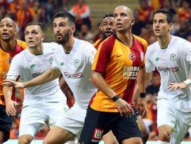 Konyaspor, Galatasaray ile 42.kez karşılaşacak