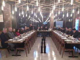 ASRİAD üyeleri yemekte buluştu