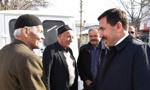 Başkan Kılca'dan mahalle ziyaretleri