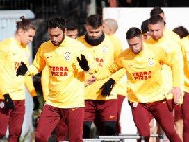 Galatasaray, Konyaspor maçının hazırlıklarını tamamladı