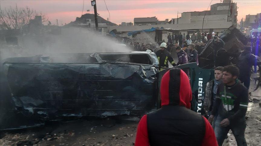 Azezde terör saldırısı: 5 sivil hayatını kaybetti
