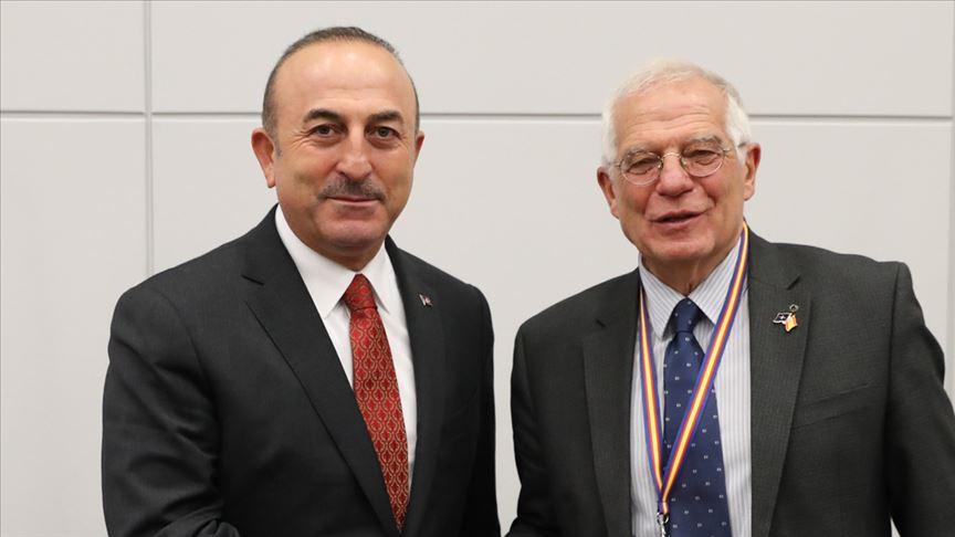AB Yüksek Temsilcisi Borrell telefonda Dışişleri Bakanı Çavuşoğluna taziyelerini bildirdi