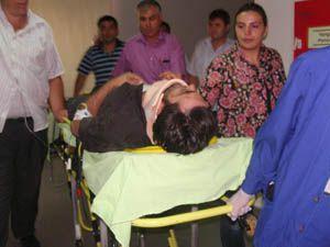 Seydişehirde trafik kazası:1 yaralı