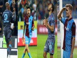 Trabzonsporun golcü dörtlüsü