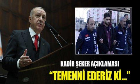 Erdoğan: Kadir insani, vicdani bir durum sergiledi