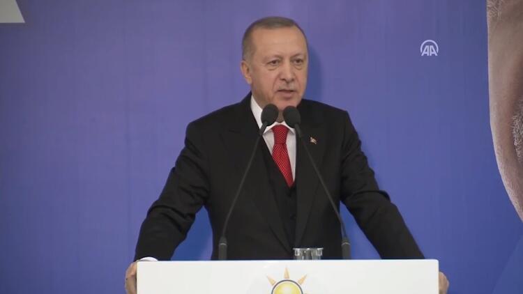 Erdoğan, Mankurtlar yine sahnede diyerek tepki gösterdi