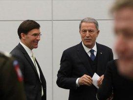 Milli Savunma Bakanı Akar  Esper ile görüştü