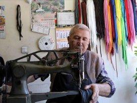Çankırıda 59 yıldır ayakkabılara hayat veriyor