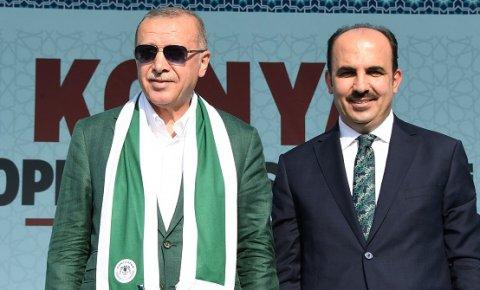 Altay'dan Cumhurbaşkanı Erdoğan'a teşekkür