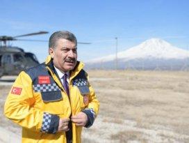 Sağlık Bakanı Kocadan İrandaki Türk vatandaşlarına uyarı