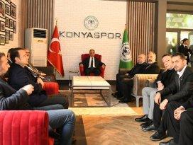 Vali Topraktan Konyaspora ziyaret