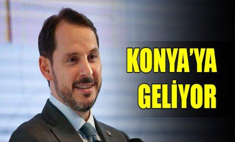 Bakan Albayrak Konya'ya geliyor