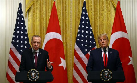 Erdoğan ve Trump İdlibi görüştü
