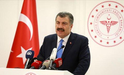 Sağlık Bakanı Koca Türkiyede ilk koronavirüs vakasının görüldüğünü açıkladı